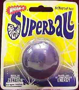 New Wham-O Super Ball - Purple (front)